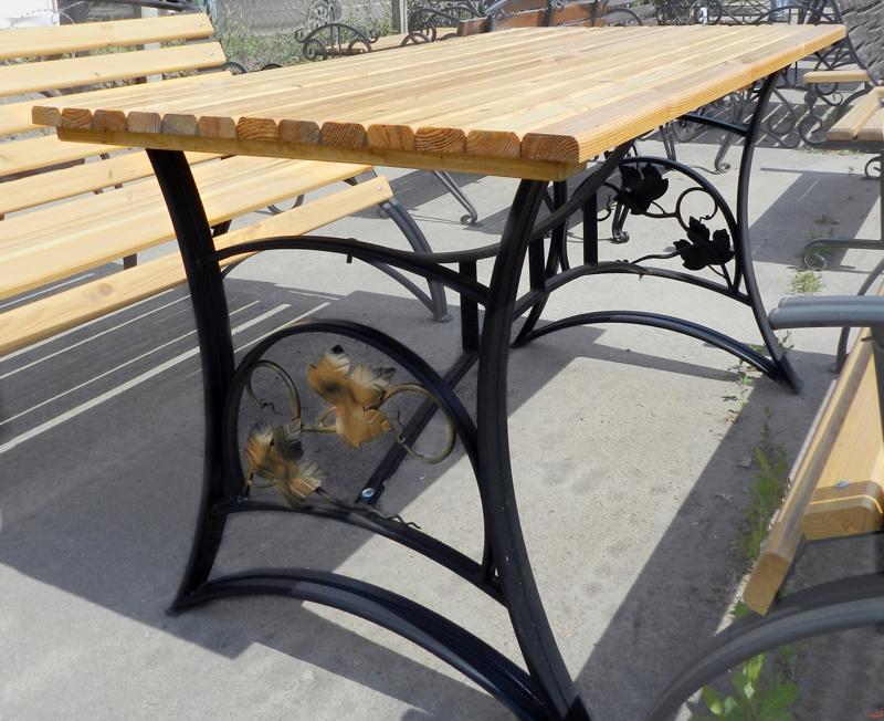 Как сделать стол из ковки